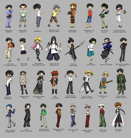 File:Favorite Manga Anime Boys by DreamerNova.png