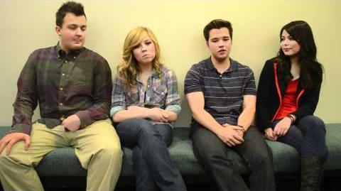 """ICarly Cast Dishes on """"iBattle Chip!"""""""