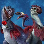 Dino-Bird Family