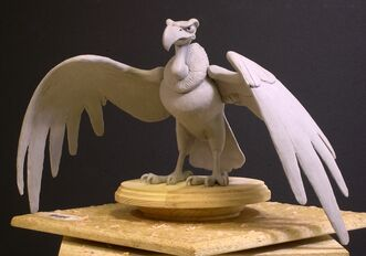 Sculpture of condor-1