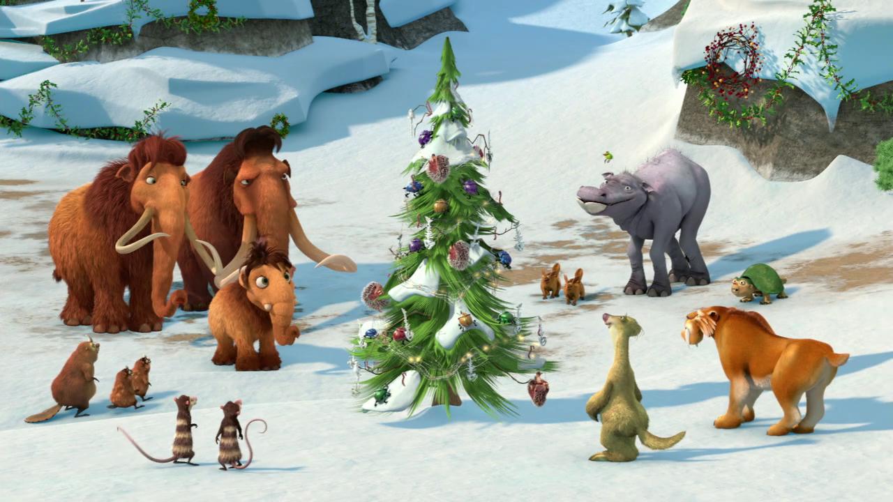 დიდი გამყინვარება: მამონტების შობა / Ice Age: A Mammoth Christmas (ქართულად)