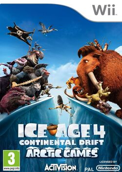 Ice Age 4 video game (arctic game)