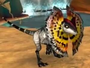 Game Dilophosaur