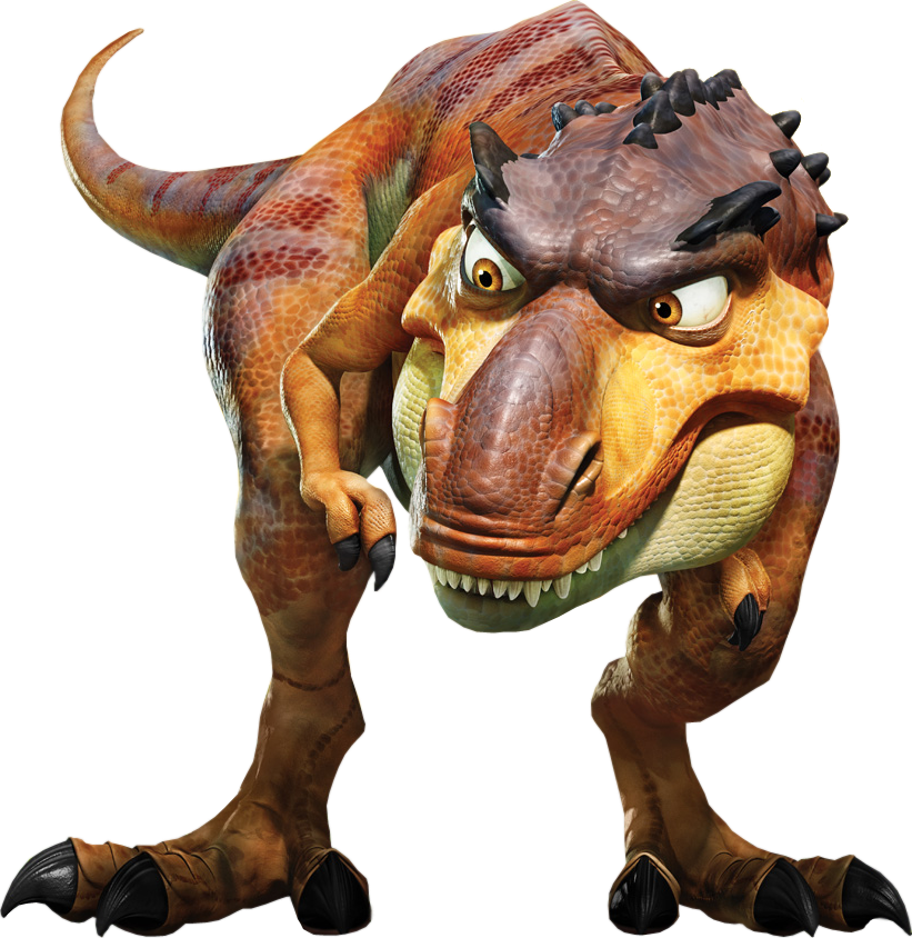 Ice Age 3 IceAge3 IceAge Dinosaur Baby Dino T-Rex Chrome ... |Ice Age 3 Baby Dinosaurs
