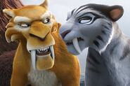 Diego & Shira angry