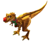 Red nosed trex