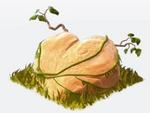 Dino stone heart
