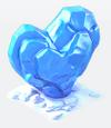 Clean ice heart