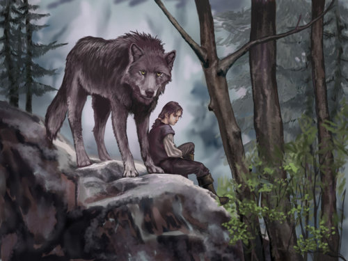 File:Arya stark and nymeria 2.jpg