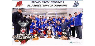 2017 ACH champs Stoney Creek Generals
