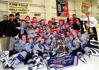 NH Jr. Monarchs 2012 National champions
