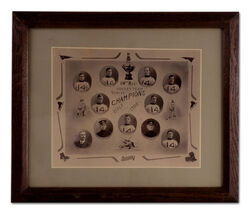 Hockey - 1908 14th regiment hockey photo