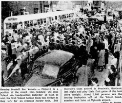 Volants sendoff 1949
