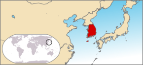Locator map of South Korea2