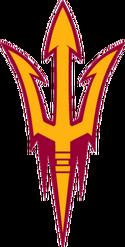 Arizona State Sun Devils trident logo