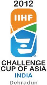 2012 IIHF Challenge Cup of Asia Logo