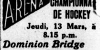1912-13 Art Ross Cup Finals