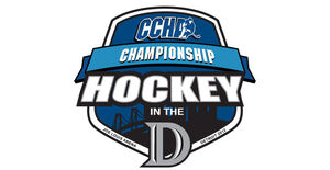 2012 CCHA Tournament logo