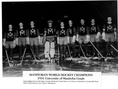 UofM WorldChamps 1931