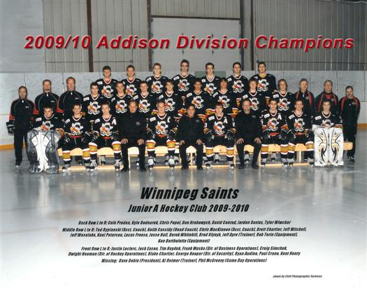 Winnipeg Saints 2009-10