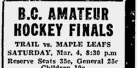 1932-33 British Columbia Senior Playoffs