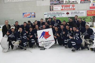 2017 NESHL champs Montague Stallions