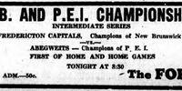 1951-52 Maritimes Intermediate Playoffs