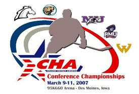 2007 CHA Tournament Logo