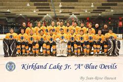 2011-12 Kirkland Lake Blue Devils