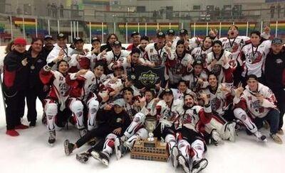 2017 KJHL champs Peguis Juniors