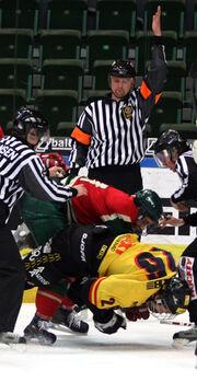 Icehockeyfight