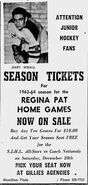 63-64SJHLReginaSeasonTickets
