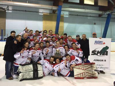 2017 PJHL champs Regina Capitals