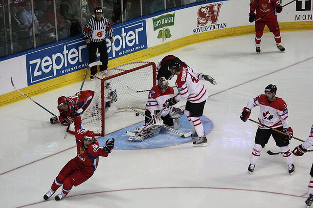 File:Alexander Semin first goal in final 2008 IIHF World Championship.JPG