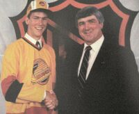 Trevor Linden draft photo 1988