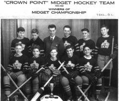 Trail Crown Point Midget Team 1945 1946
