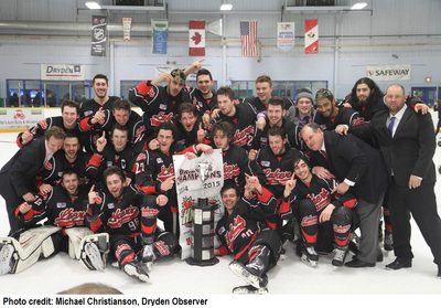 2014-15SIJHLChampionFort FrancesLakers large
