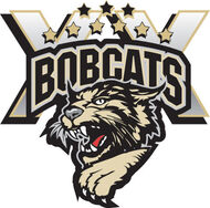 Bismarck Bobcats 20th anniversary logo