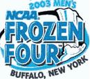 2003 NCAA Division I Men's Ice Hockey Tournament