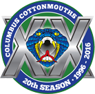 Cottonmouths WebLogo 20years