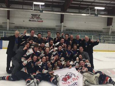 2017 KIJHL champs Beaver Valley Nitehawks
