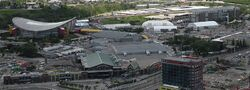 Saddledome from Calgary Tower