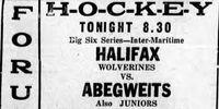 1931 Maritimes CCM Trophy playoffs