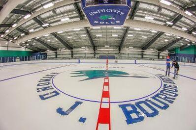 Raymond J Bourque arena Center ice