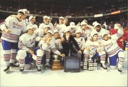 1990 Memorial Cup Champions Oshawa Generals Photo