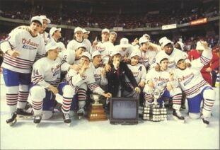 1990 Memorial Cup Champions Oshawa Generals Photo