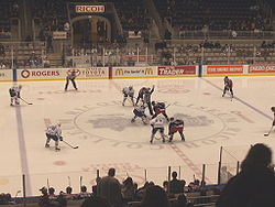 Toronto Marlies faceoff