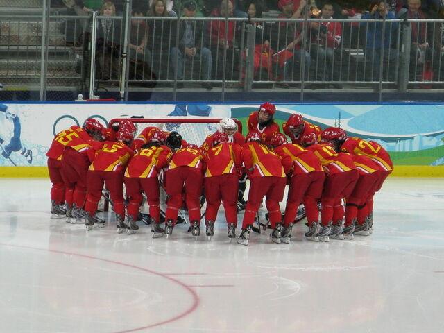File:ChinaWomen2010WinterOlympicshuddle.jpg