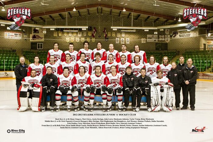 Selkirk Steelers 2012-13