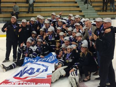 2017 NAHL champs Lone Star Brahmas